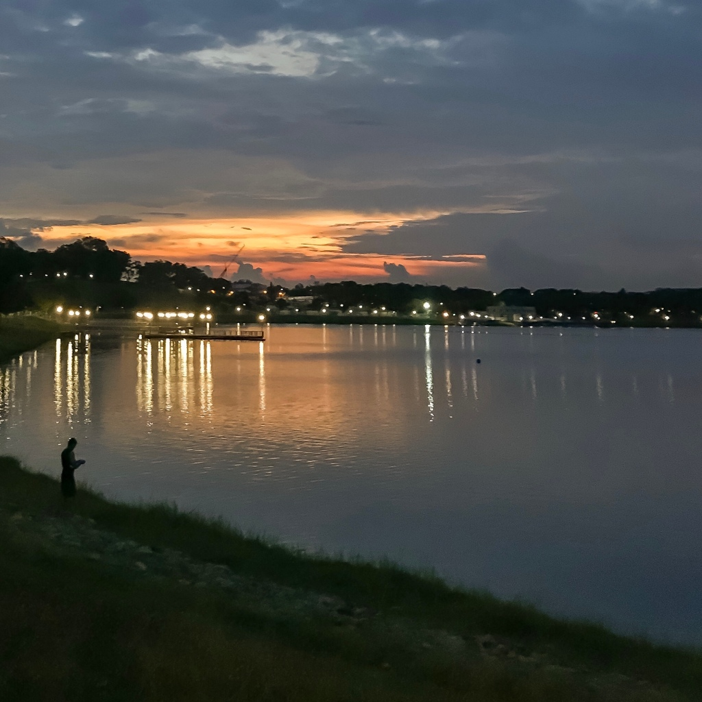 Bedok Reservoir during Phase 1 (Early June 2020)